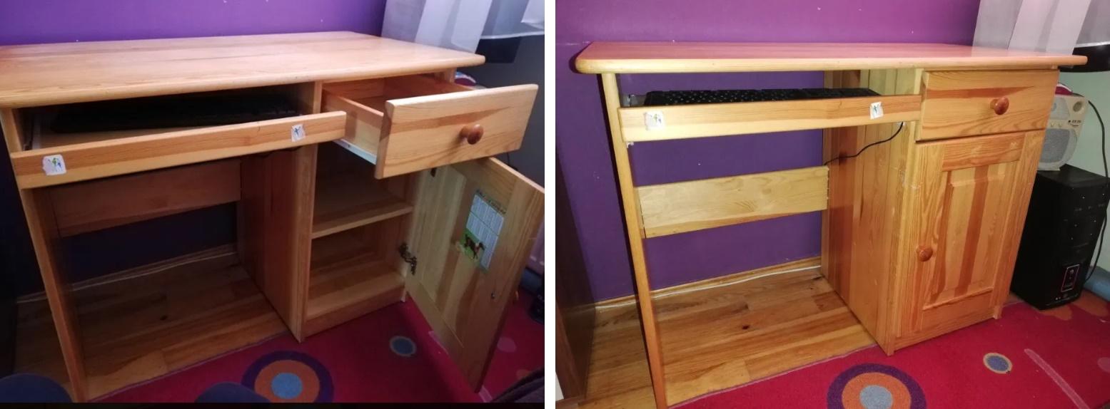 jaką farbą pomalować biurko