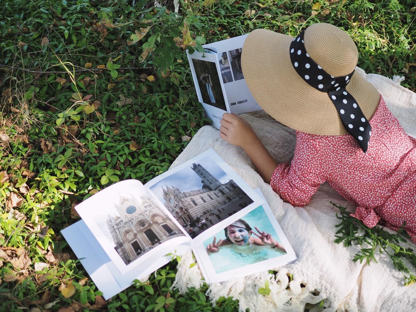 zdjęcia z wakacji w fotoksiążce