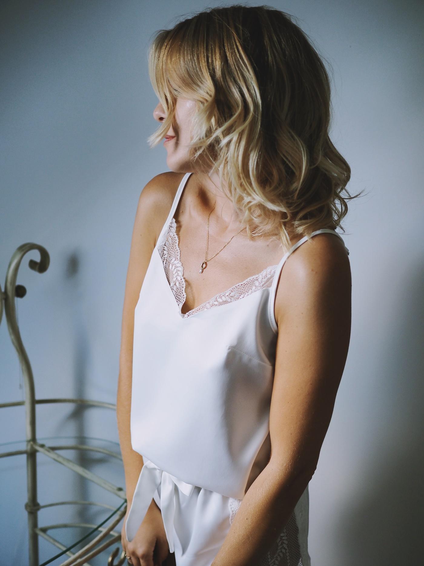 piżamy damskie koronkowe